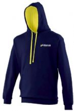Alliance Swimming Club AWDis Varsity Hoodie Oxford Navy/ Sun Yellow Adults 2020